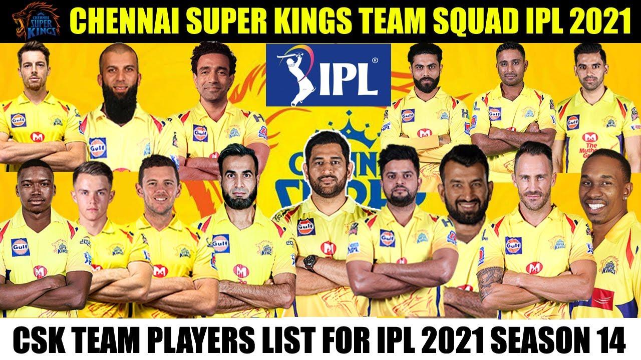 Team Chennai Super Kings (CSK)