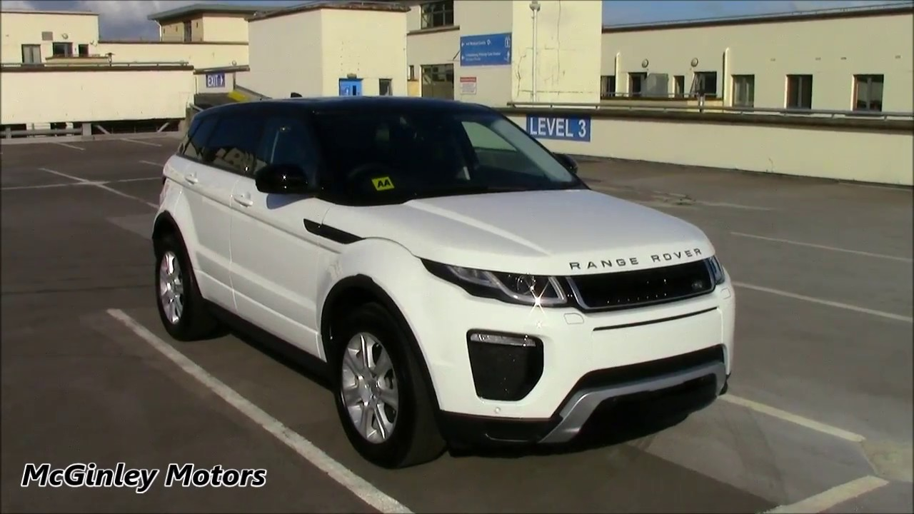 2017 Range Rover Evoque Se Dynamic Td4 Automatic Youtube