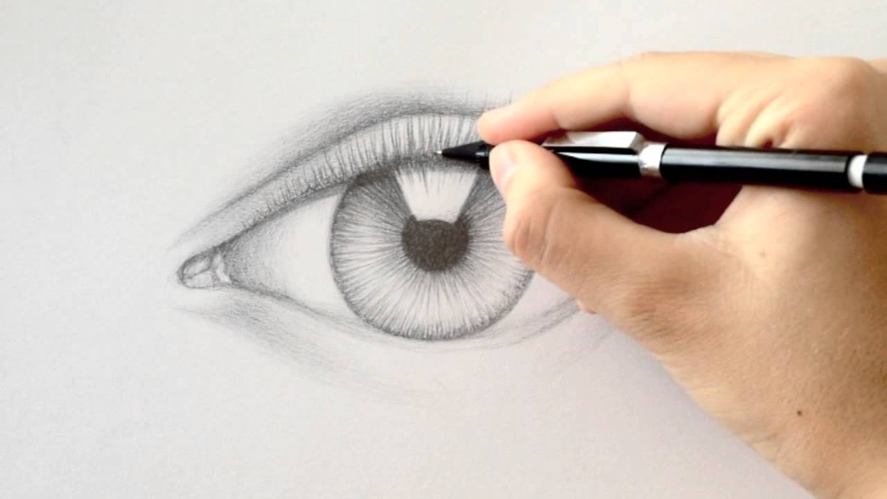 How To Draw Eyelashes Youtube