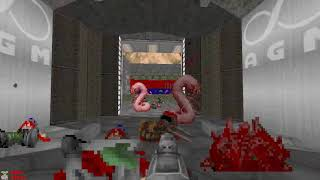 DOOM MOD FREEDOOM 1 WAD BY VARIOUS AUTHORS MAP E2M9 VIDEO PART 1