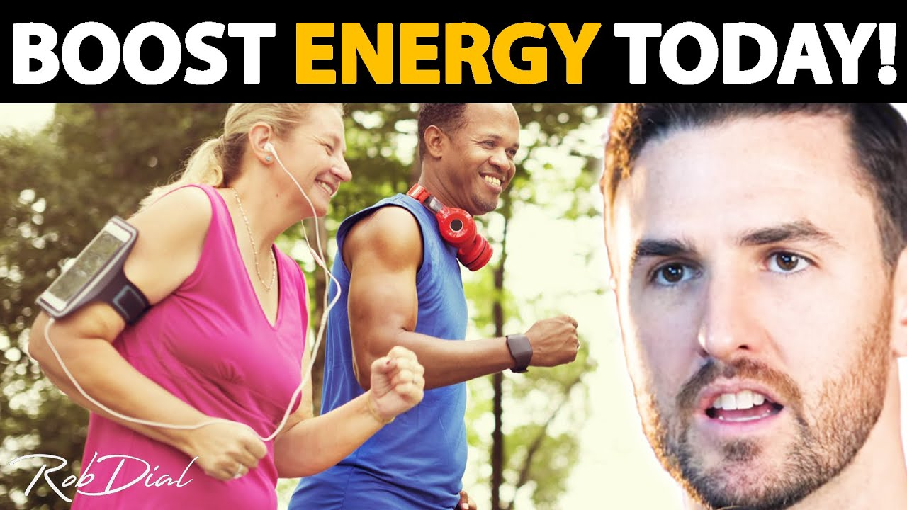 9 Ways To Have MORE ENERGY & Stop Feeling TIRED ALL THE TIME! | Rob Dial