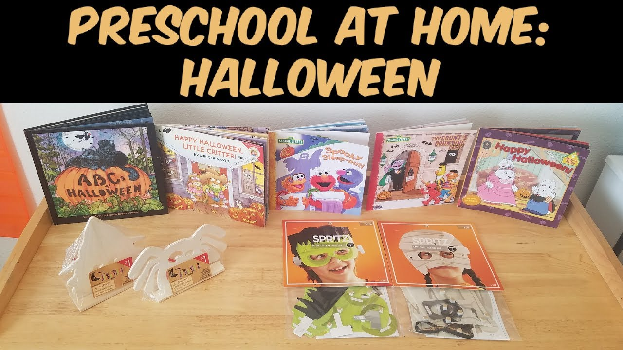 Preschool at Home: Halloween Activities - YouTube