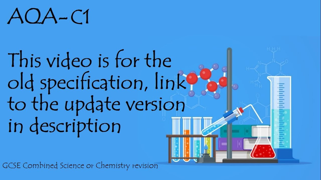 The whole of aqa c1 in only 48 minutes gcse core science and chemistry revision the whole of aqa c1 in only 48 minutes gcse core science and chemistry revision publicscrutiny Gallery