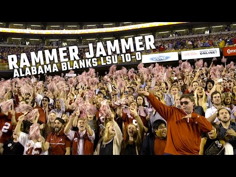 Rammer Jammer rings out in Tiger Stadium after Alabama blanks LSU 100