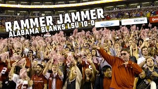 Rammer Jammer rings out in Tiger Stadium after Alabama blanks LSU 10-0