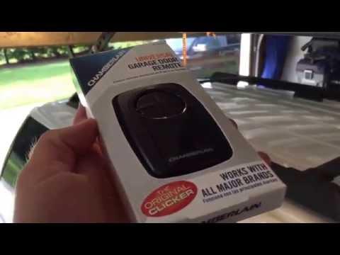 how to program garage door opener in car ford