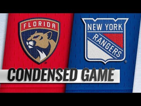 10/23/18 Condensed Game: Panthers @ Rangers