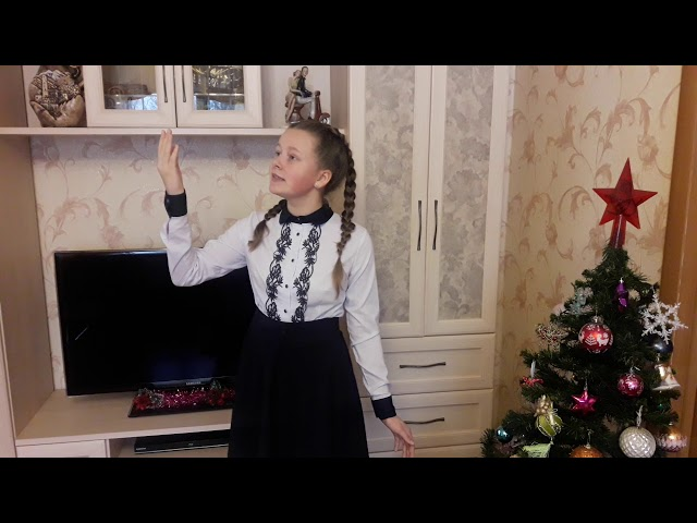 Изображение предпросмотра прочтения – ГалинаГорина читает произведение «Снег да снег» А.А.Блока