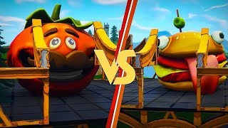 The Most Funniest Glitch in Fortnite! (Tomato Head vs Durr Burger)