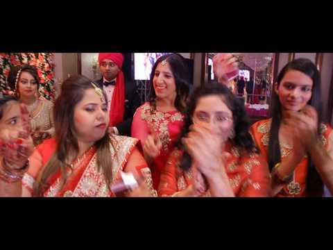 Gallan Goodiyan | LipDub | Litika & Mudit | Best Indian Wedding