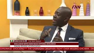 Kojo Oppong Nkrumah on The First Show