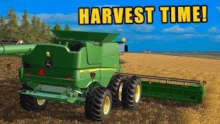 MILES & MILES OF FIELDS TO HARVEST | HARVEST 2018 | EP#89 | FARMING SIMULATOR 2017