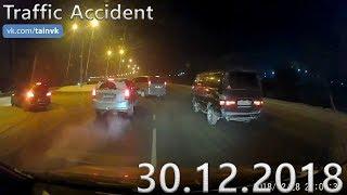 Подборка аварий и дорожных происшествий за 30.12.2018 (ДТП, Аварии, ЧП, Traffic Accident)