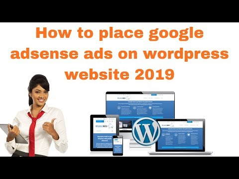 How to place google adsense ads on wordpress website 2019