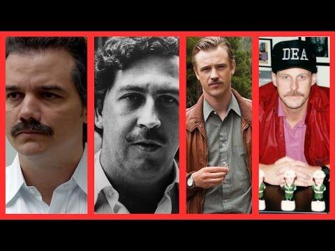 NARCOS vs. REAL LIFE [Pablo Escobar]
