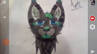 A new Furry drawing (read the description)