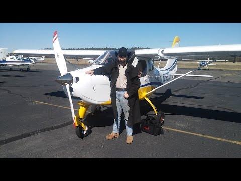 First solo flight: Tecnam P-92 Eaglet
