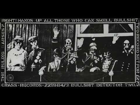 Bullshit Detector Two - Crass Records 1982