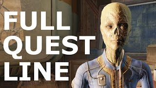 Fallout 4 Vault Tec Workshop DLC - Full Quest Line Walkthrough Gameplay (No Commentary Playthrough)