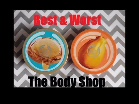 Best and Worst of The Body Shop body butters