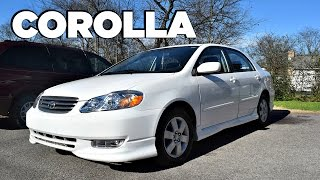 2004 Toyota Corolla S In-Depth Review (Start up, Engine & Tour)