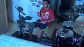 Hello Adele Anevo Remix drum cover by Dynamite Drumming