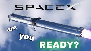 SpaceX in the News - Starhopper Is Ready For Launch!!! (Episode 35)