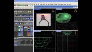 Уроки Gemvision Matrix и Rhino (3D моделирование ювелирки)
