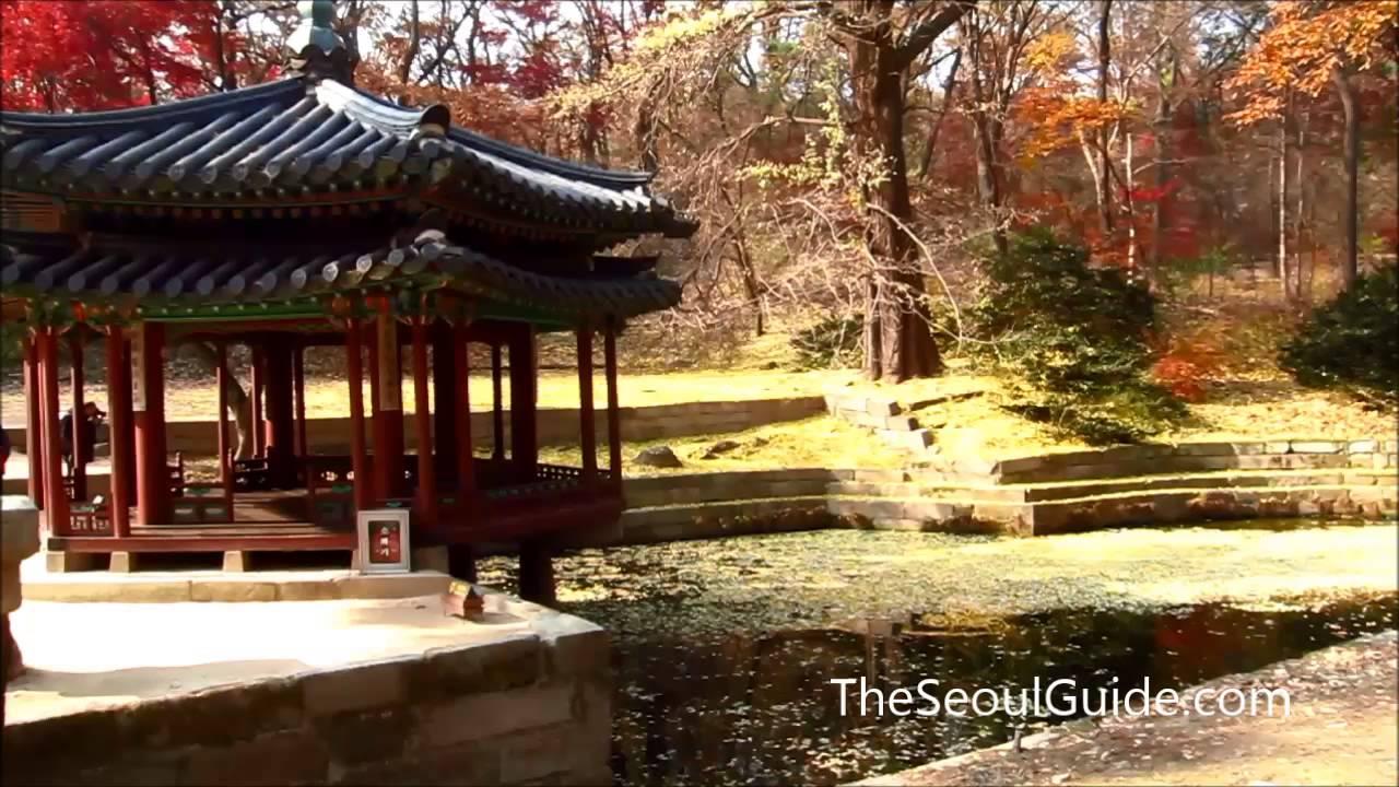 Jondeokjeong Pavilion inside Huwon Secret Garden at Changdeokgung ...