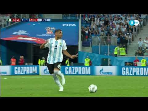 Mercado y Banega claves en el pase de Argentina a octavos