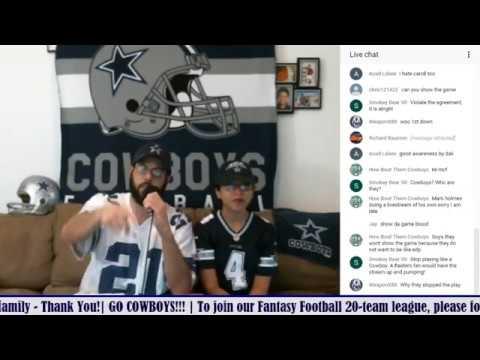 LIVE STREAM Reaction - 2017 PRESEASON GAME 4: Oakland Raiders At Dallas Cowboys
