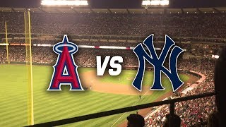 ANGELS VS. YANKEES! AARON JUDGE IS MASSIVE! (Angel Stadium Vlog 6/14/2017)