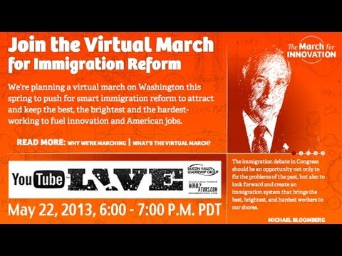 The March for Innovation: Virtual Push for Smart Immigration Reform