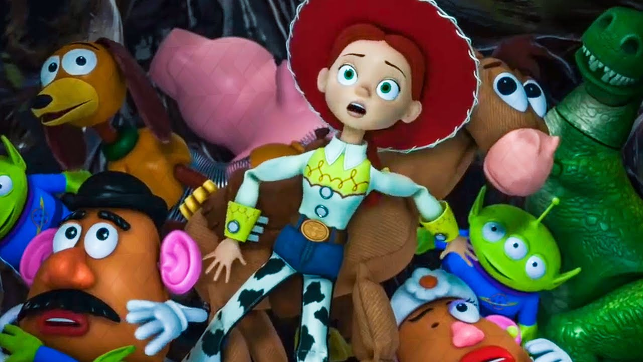Andy Throws His Toys Away Scene Toy Story 3 2010 Movie