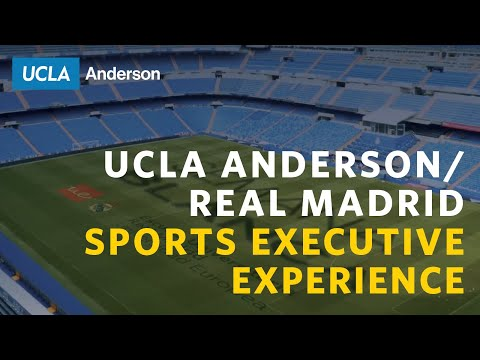Real Madrid Sports Executive Experience