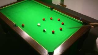 5ème Exercice billard anglais 8 pool blackball(dans l'ordre et dans les poches que vous souhaitez)