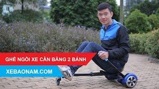 [Xebaonam.com] Đại lý bán Ghế Ngồi xe điện cân bằng 2 bánh giá rẻ nhất Việt Nam.