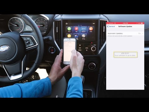 New Subaru Apple CarPlay Update