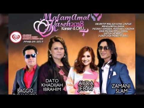 Zamani - Gerimis Mengundang Live (Majlis Amal Kanser & Oku 2018)