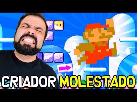 AS MENTES CRUEIS DE CRIADORES M0LESTAD0S – Super Mario Maker (SUPER CORAÇÃO NEGRO)