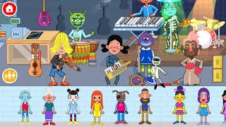Pepi Super Stores Gameplay Episode 1 - Make Your Own Band! Fun Creative Games For Kids