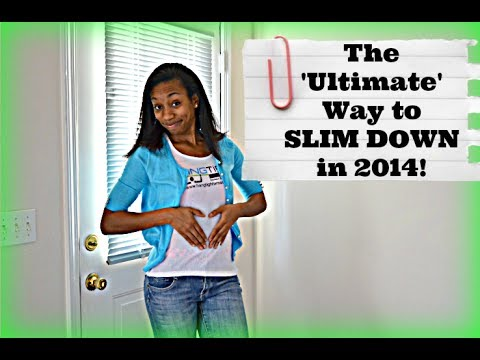 The ULTIMATE Way to Slim Down in 2014 I Jan Lifestyle Challenge