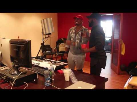 Bongani Fassie in studio 2017 Just Jammimg