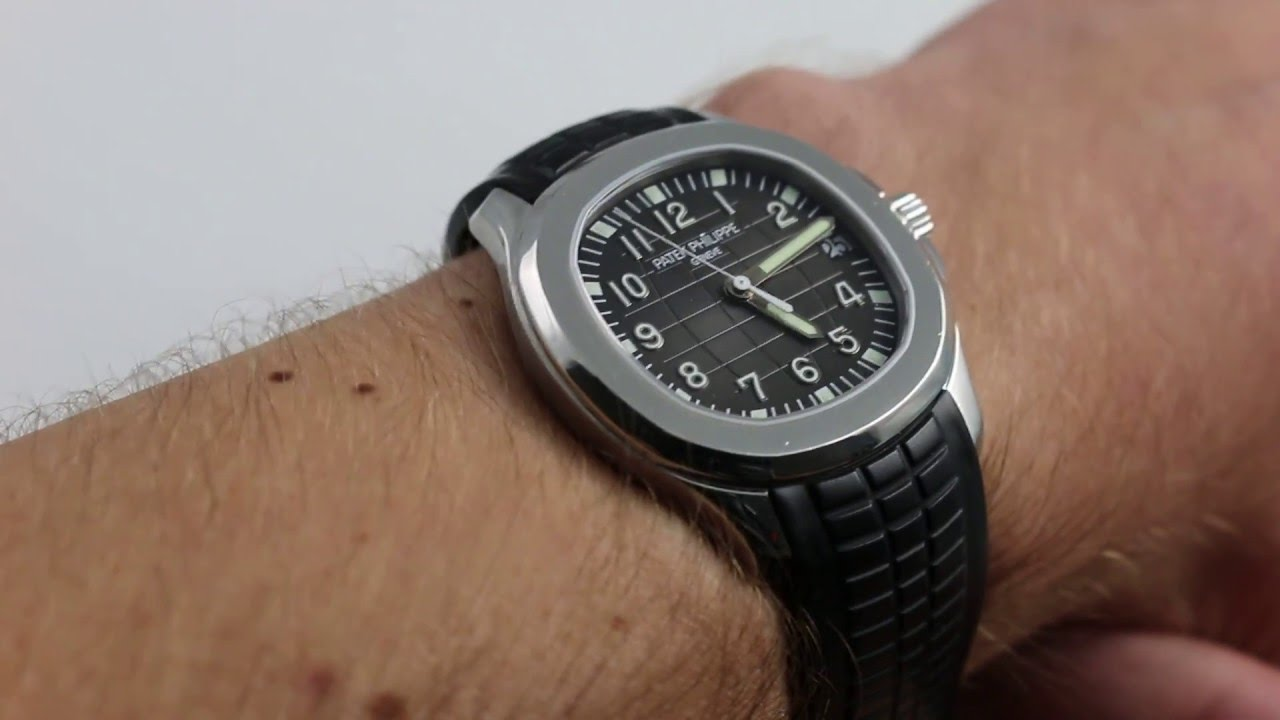 Patek Philippe Aquanaut 5165a Luxury Watch Review Youtube