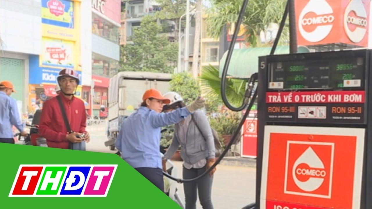 Giá xăng, dầu giảm trong ngày đầu năm 2019 | THDT