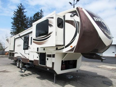 2015 Bighorn 3755fl Used Front Living Room Fifth Wheel By Heartland Rv Youtube