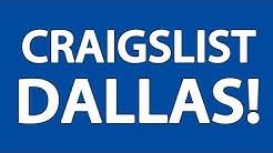 Craigslist Dallas