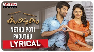 Netho Poti Paduthu Lyrical Song   Tholu Bommalata Songs   Dr. Rajendra Prasad, Vishwant D