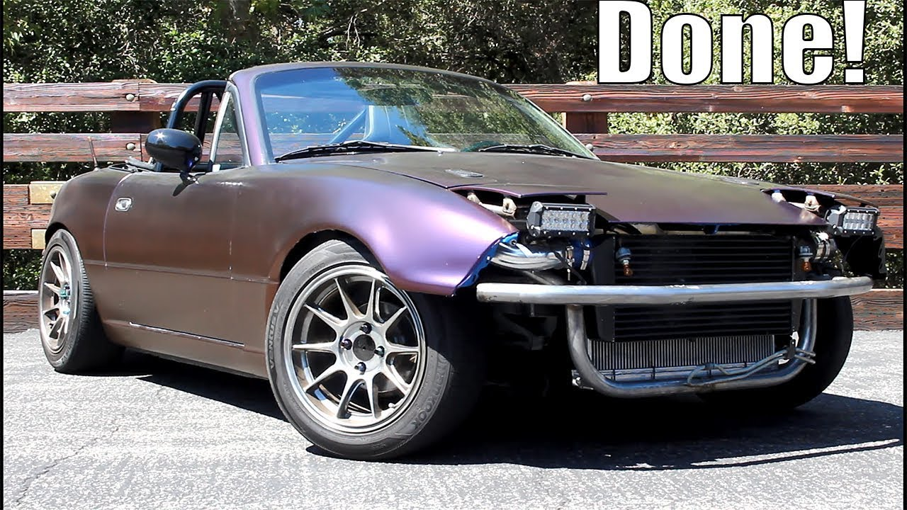 Revealing The Front End Of Miata