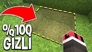 EN GÜVENLİ %100 GİZLİ GEÇİT NASIL YAPILIR? - Minecraft